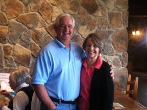 Linda & Jim are great board members
